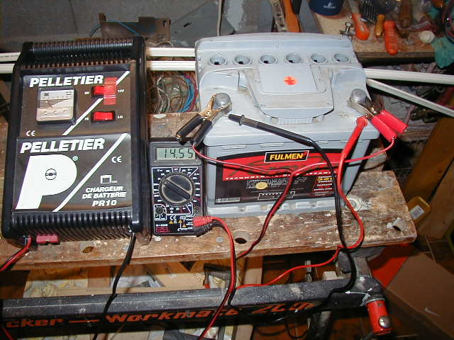 batterie et alternateur